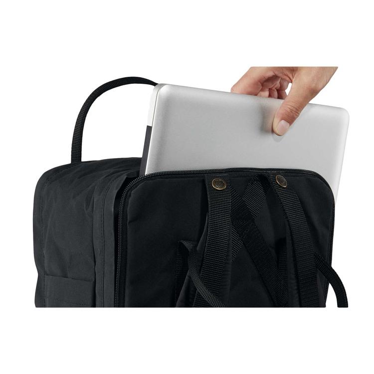 Fjällräven Rygsæk Kånken Laptop Sort 2