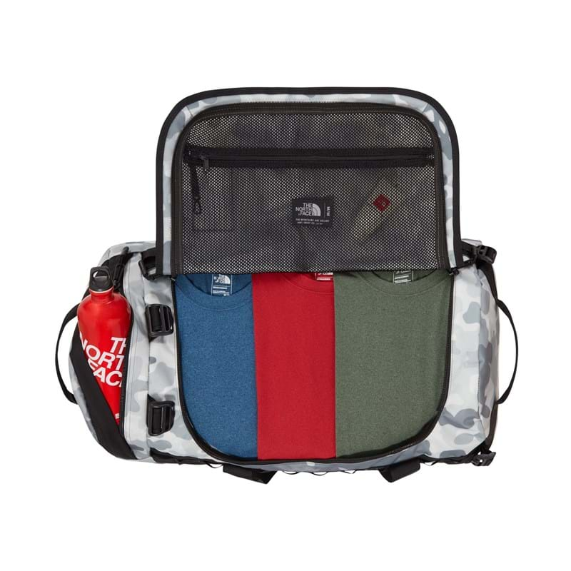 The North Face Duffel Bag Basecamp M Grå/hvid 3