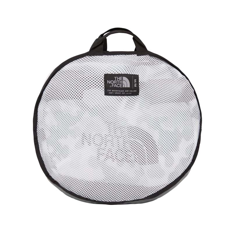 The North Face Duffel Bag Basecamp M Grå/hvid 5
