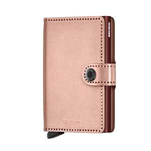 Secrid Kortholder Mini wallet Lyserød