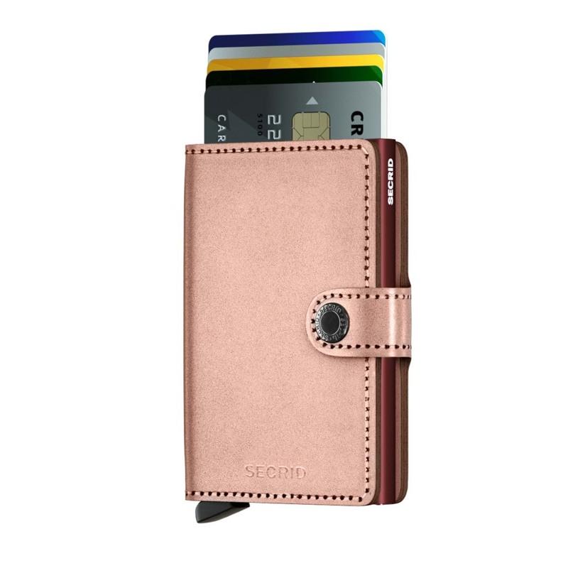 Secrid Kortholder Mini wallet Rosa 3