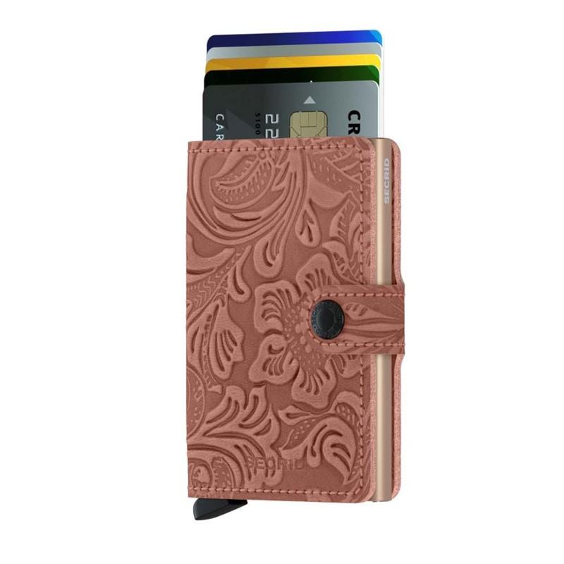 Secrid Kortholder Mini wallet Pink 2