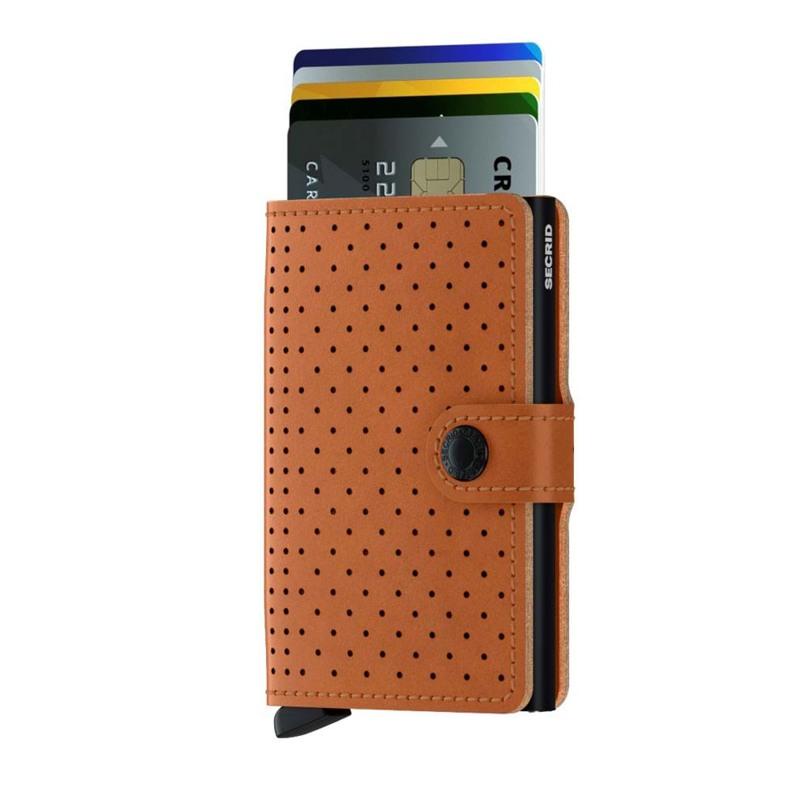 Secrid Kortholder Mini wallet Cognac 2