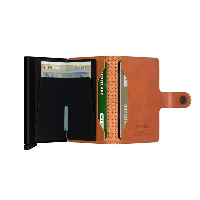 Secrid Kortholder Mini wallet Cognac 4