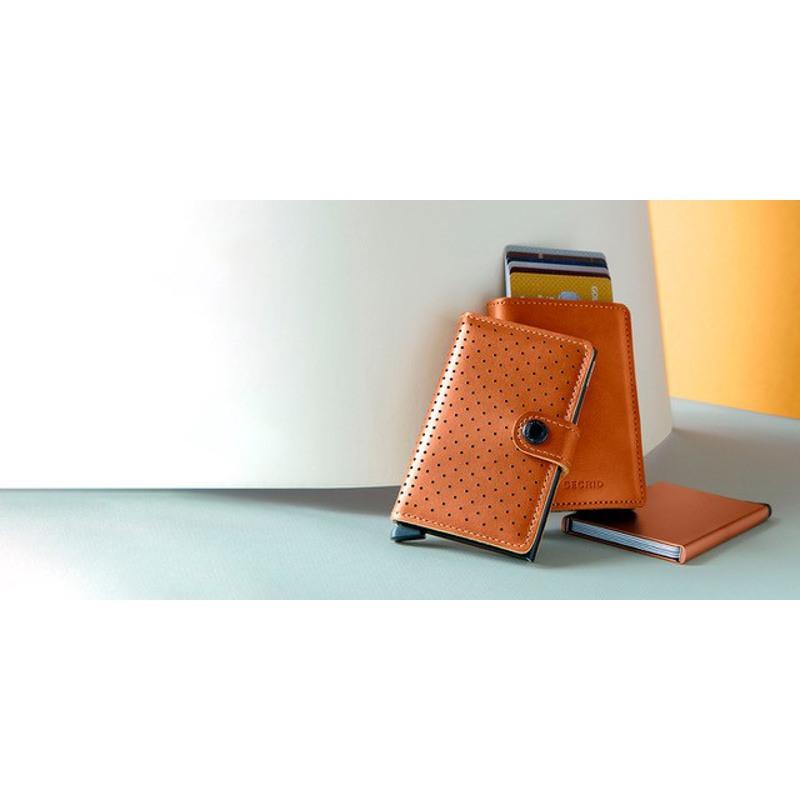 Secrid Kortholder Mini wallet Cognac 5