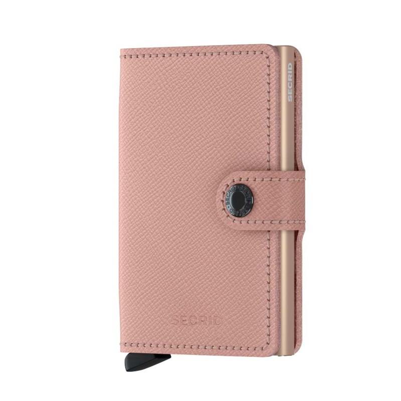 Secrid Kortholder Mini wallet Pink mønstret 1