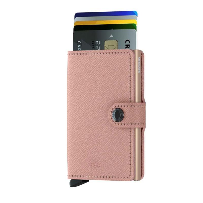 Secrid Kortholder Mini wallet Pink mønstret 2