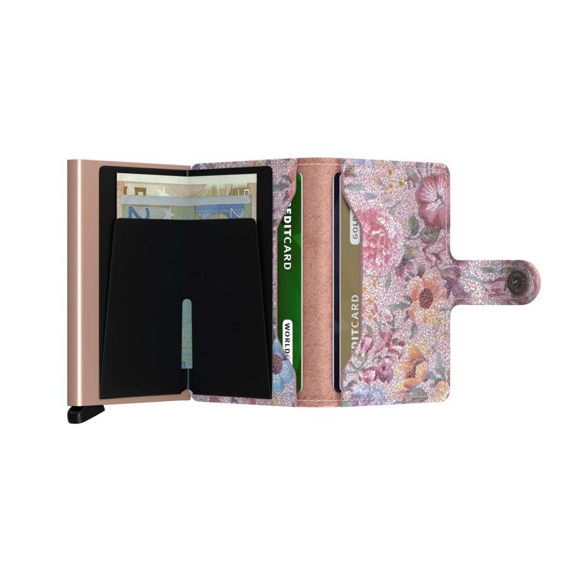 Secrid Kortholder Mini wallet Pink mønstret 4