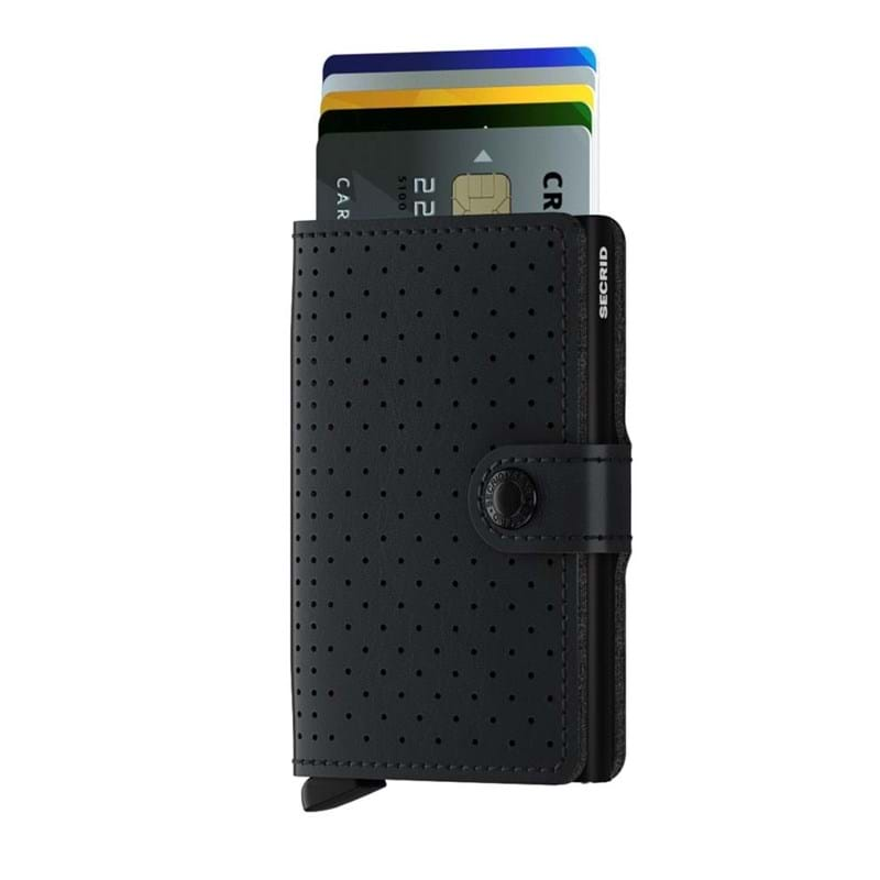 Secrid Kortholder Mini wallet Sort/prikker 2