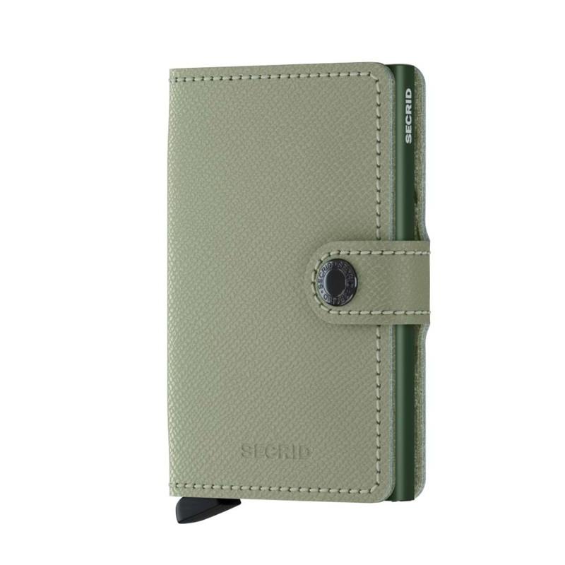 Secrid Kortholder Mini wallet Grøn mønster 1