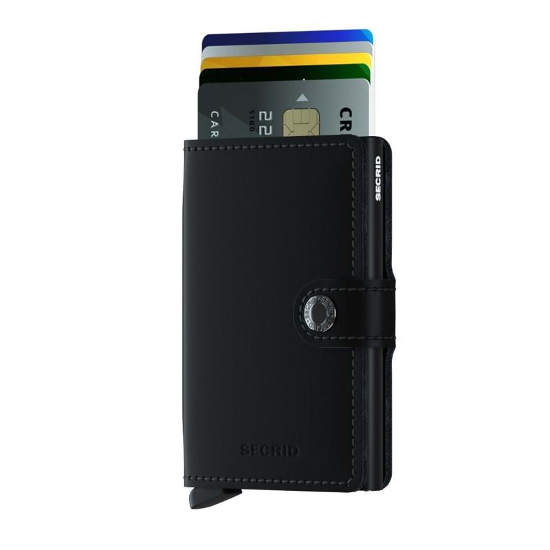 Secrid Kortholder Mini wallet Sort/ mørk 2