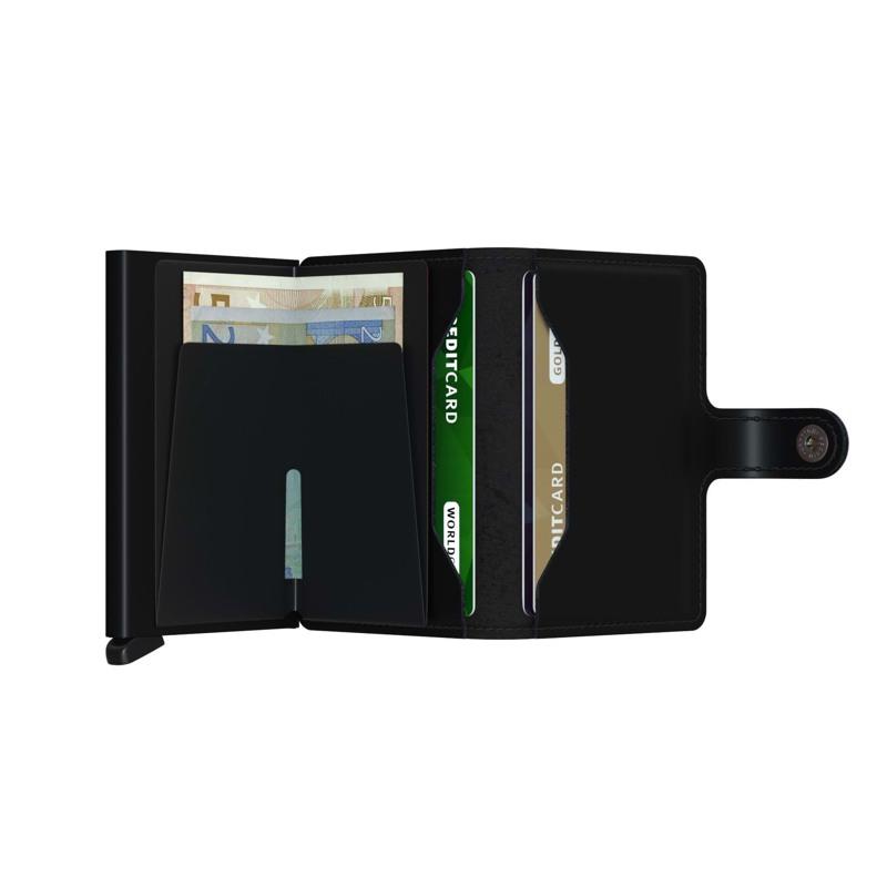 Secrid Kortholder Mini wallet Sort/ mørk 4