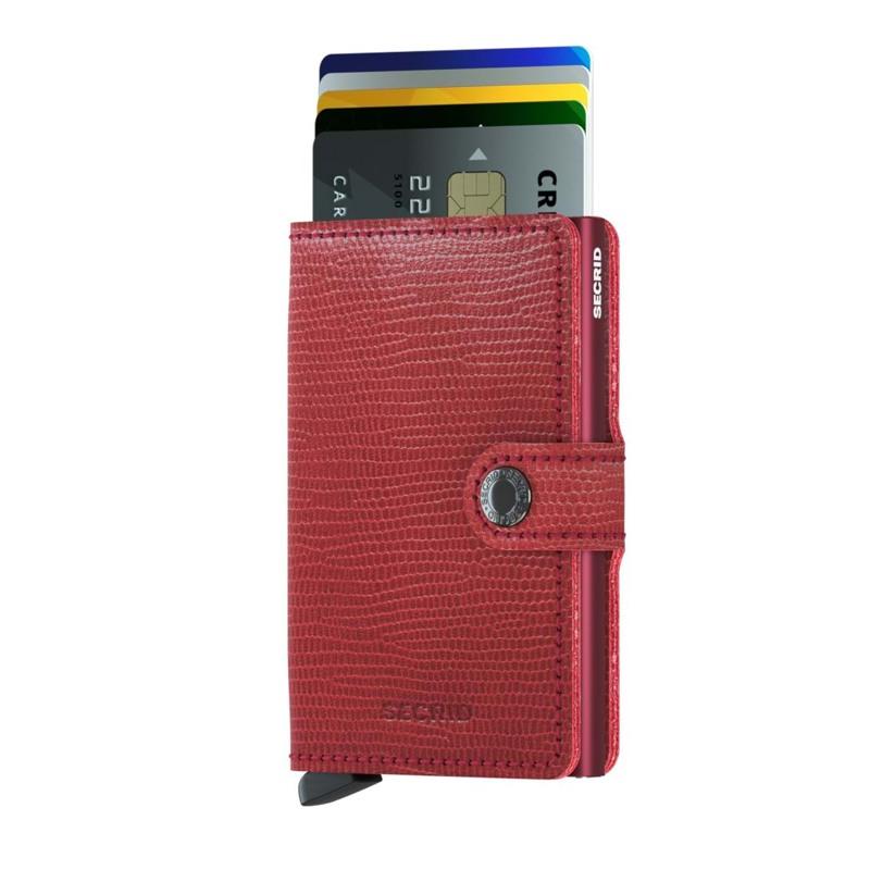 Secrid Kortholder Mini wallet Bord/rød 2