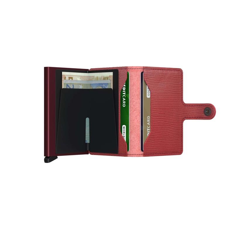 Secrid Kortholder Mini wallet Bord/rød 3