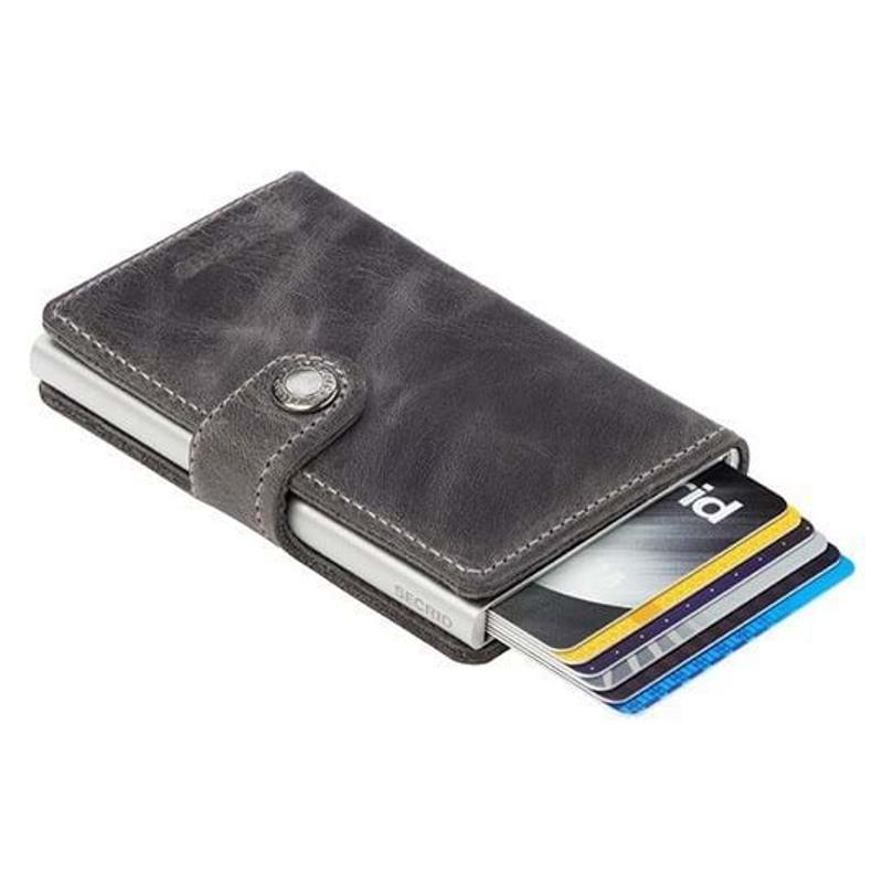 Secrid Kortholder Mini wallet Grå 2