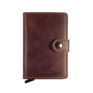 Secrid Kortholder Mini wallet Brun