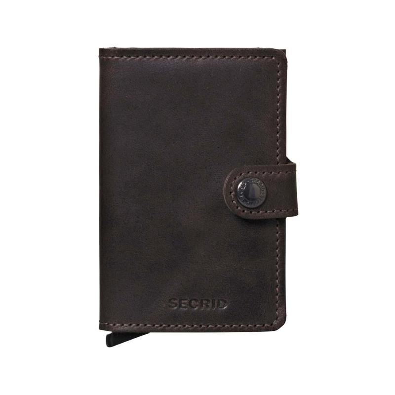 Secrid Kortholder Mini wallet Mocca Brun 1