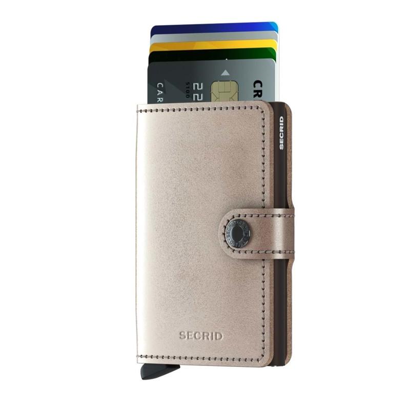 Secrid Kortholder Mini wallet Beige 2