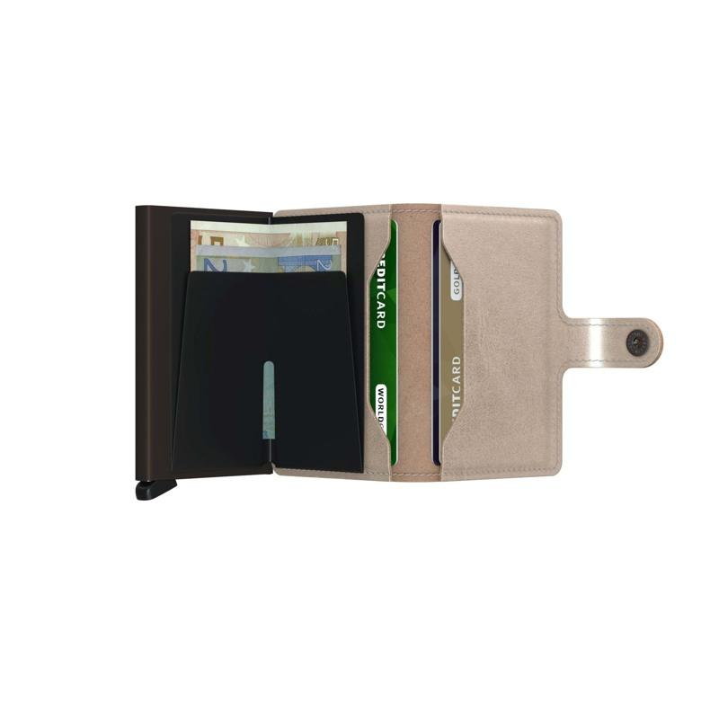 Secrid Kortholder Mini wallet Beige 3