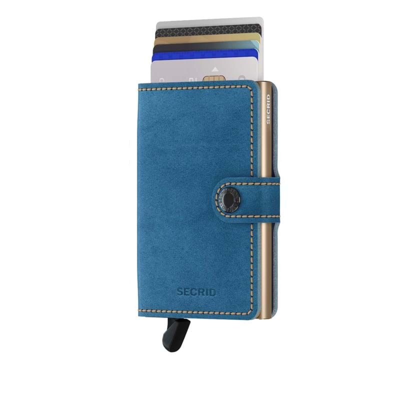 Secrid Kortholder Mini wallet Blå 1