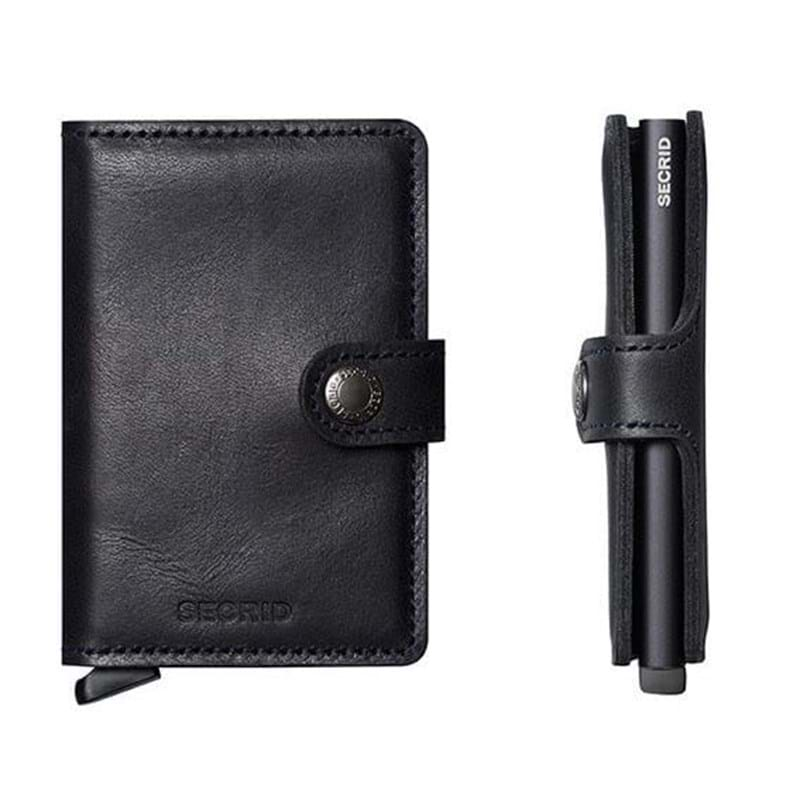 Secrid Kortholder Mini wallet Sort/Sort 4
