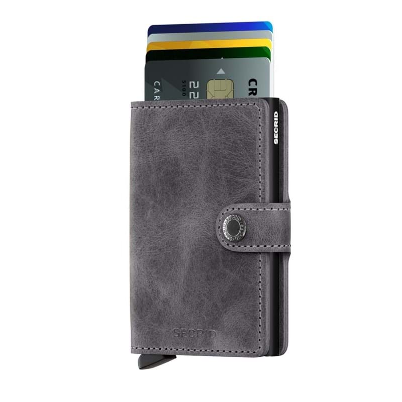 Secrid Kortholder Mini wallet Sort/grå 2