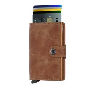 Secrid Kortholder Mini wallet Cognac/rust 2