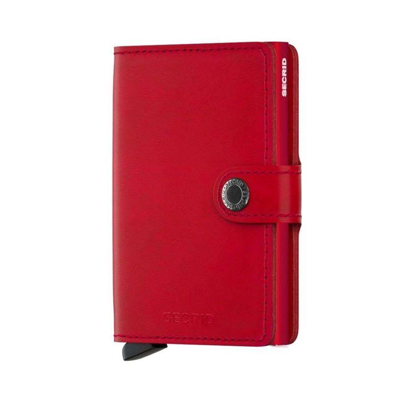 Secrid Kortholder Mini wallet Rød/rød 1