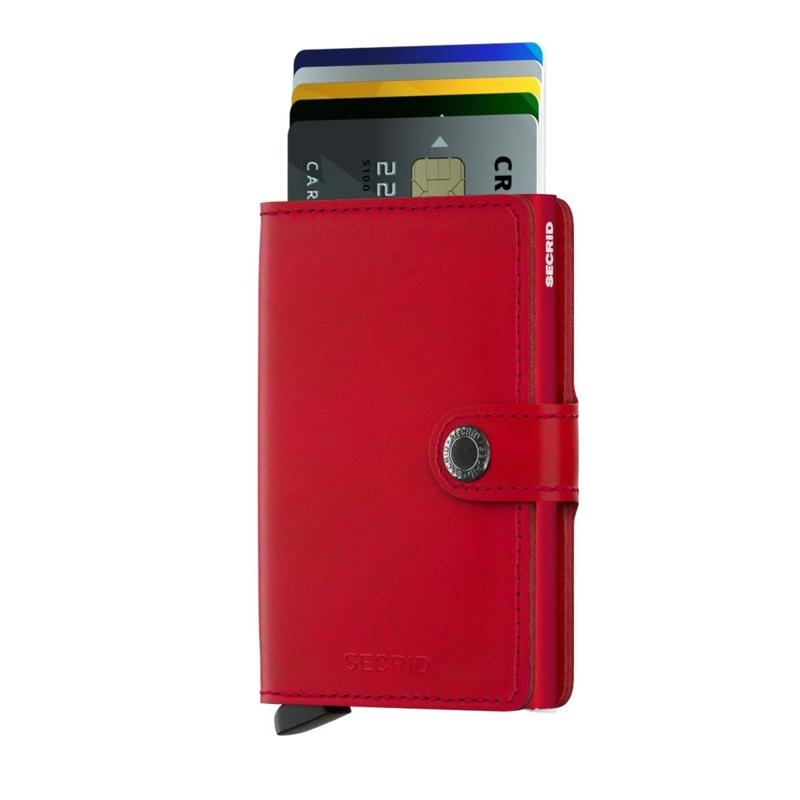 Secrid Kortholder Mini wallet Rød/rød 2