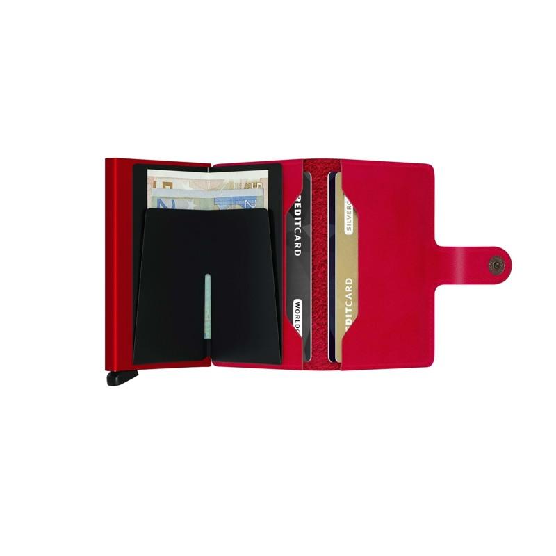 Secrid Kortholder Mini wallet Rød/rød 3