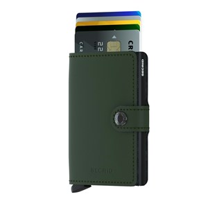 Secrid Kortholder Mini wallet Grøn/sort 2