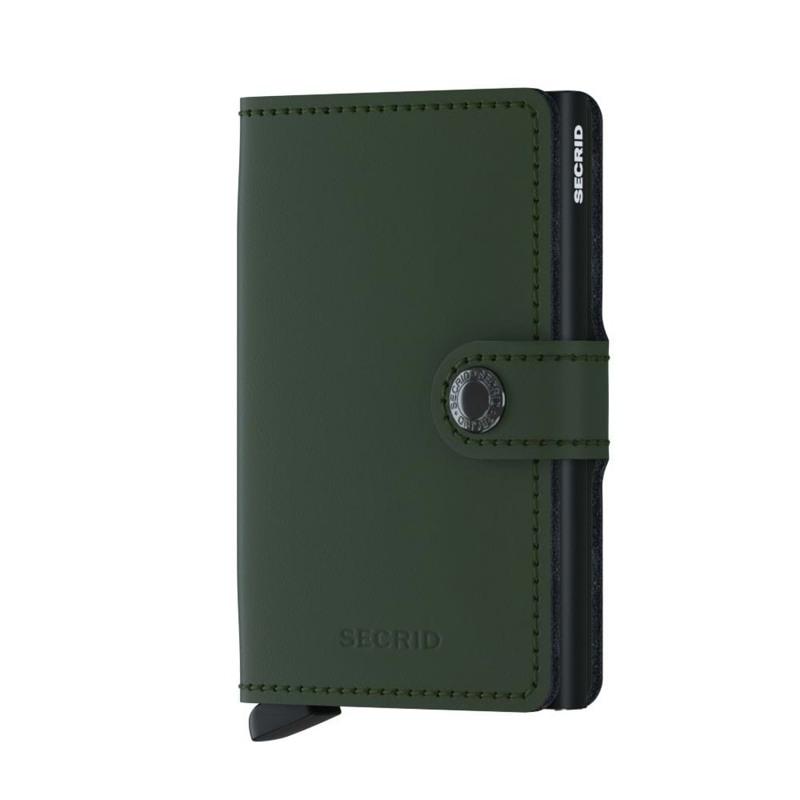 Secrid Kortholder Mini wallet Grøn/sort 1