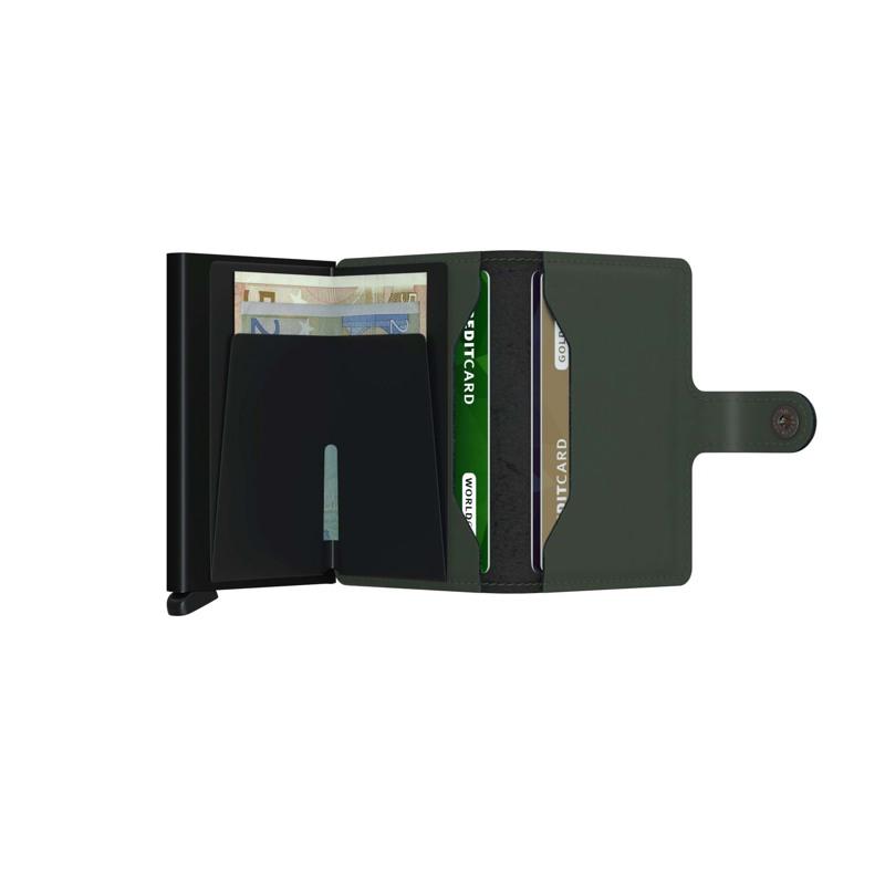 Secrid Kortholder Mini wallet Grøn/sort 3