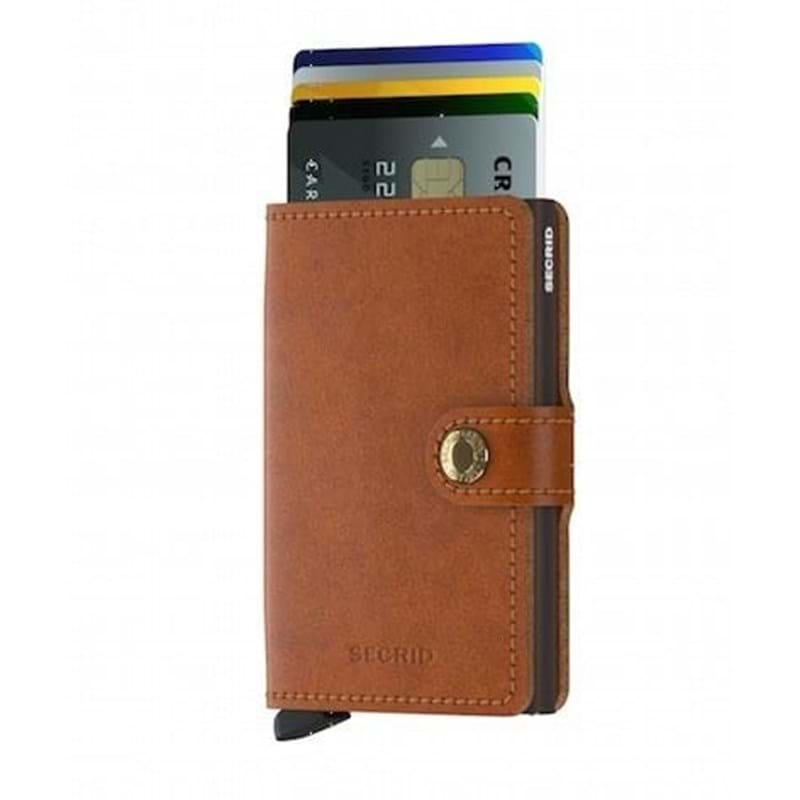 Secrid Kortholder Mini wallet Cognac/brun 2