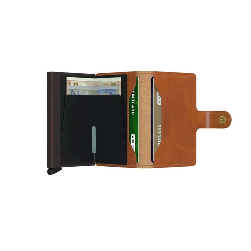 Secrid Kortholder Mini wallet Cognac/brun 3