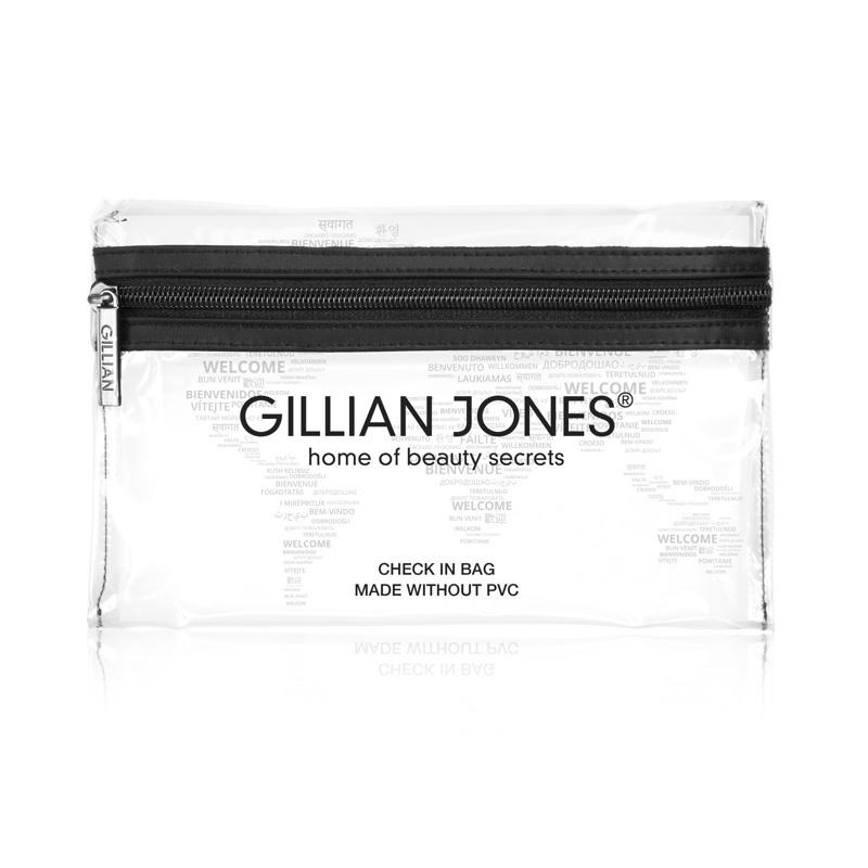 Gillian Jones Check in bag transparant Transparent 2