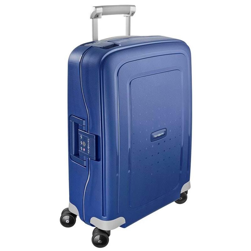 Samsonite Kuffert S.cure M. blå 1