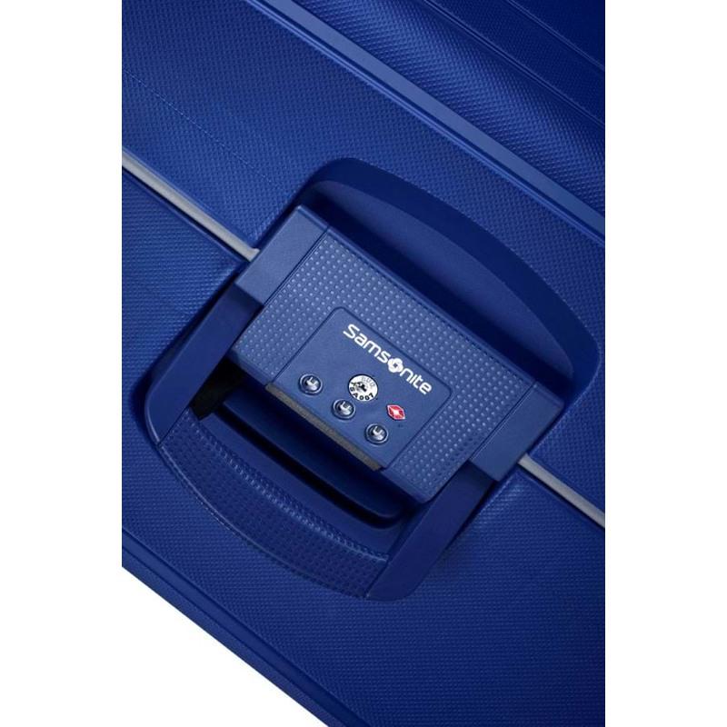 Samsonite Kuffert S.cure M. blå 6