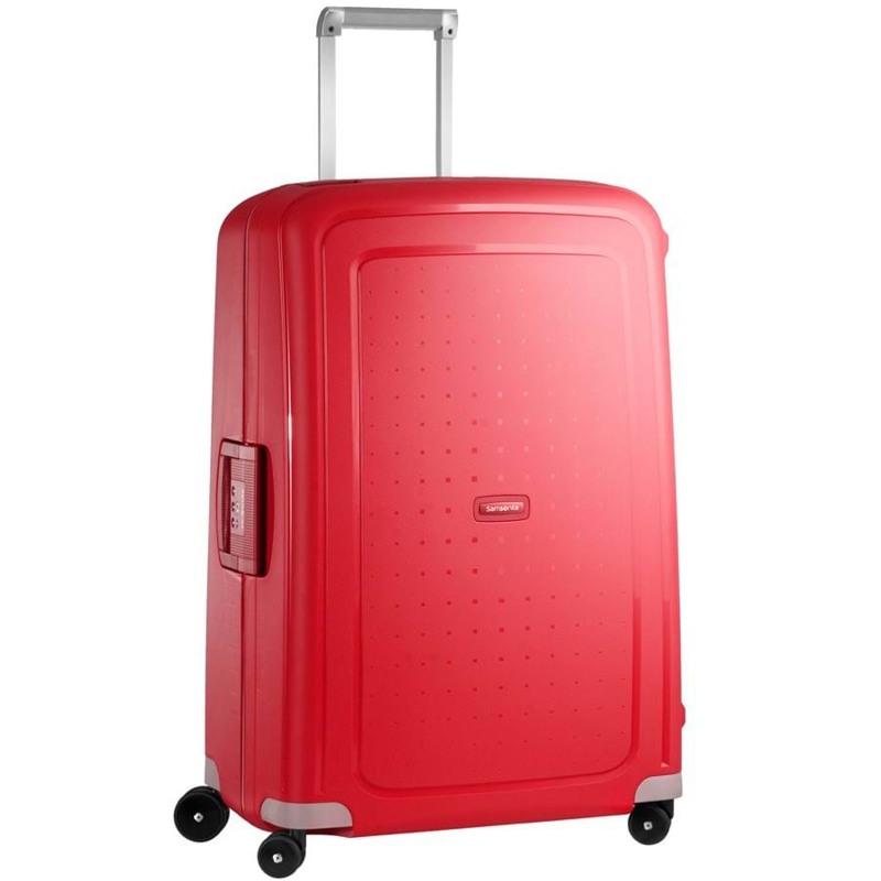 Samsonite Kuffert S.cure Rød 1