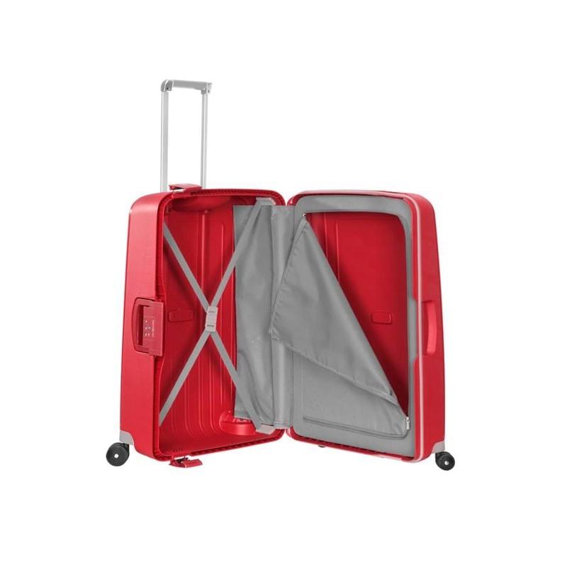 Samsonite Kuffert S.cure Rød 5