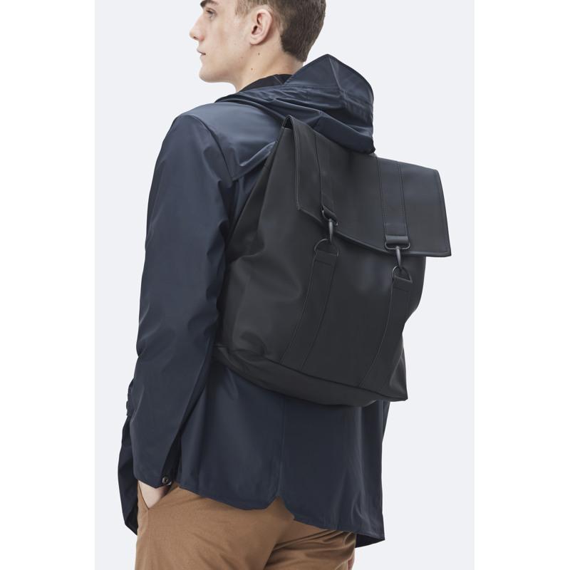 Rains Rygsæk Msn Bag Sort 5