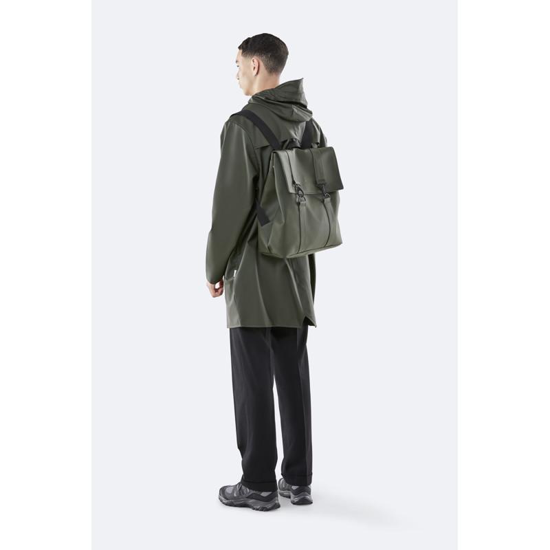 Rains Rygsæk Msn Bag Grøn 4
