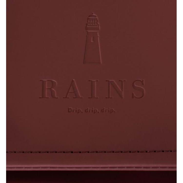Rains Rygsæk Msn Bag Bordeaux 4