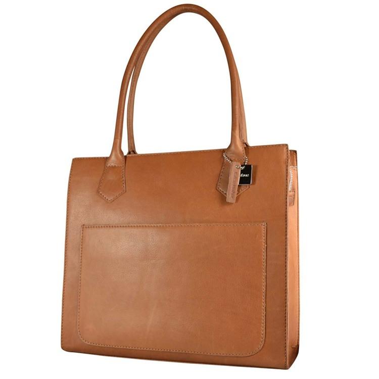 Belsac Shopper Donna Cognac 1
