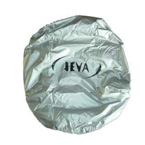 JEVA Regnslag til rygsæk Sølv
