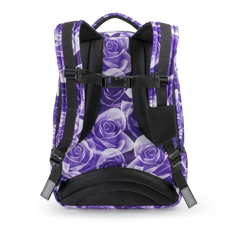 JEVA Rygsæk Supreme Purple Rose Lilla blomst 3