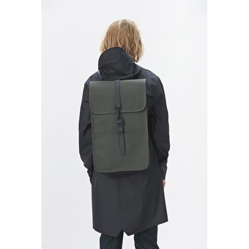Rains Rygsæk Backpack Grøn 4