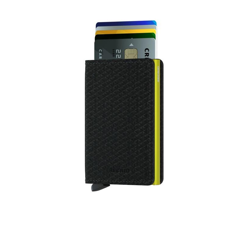 Secrid Slimwallet Sort- Neon 2
