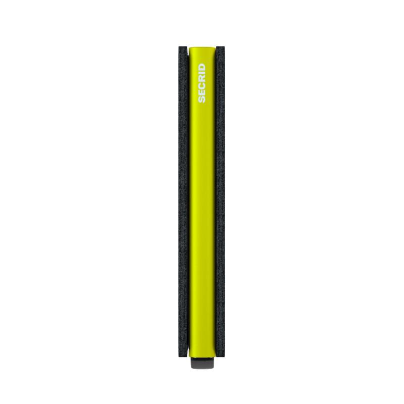 Secrid Slimwallet Sort- Neon 5