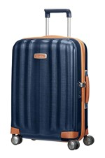 Samsonite Kuffert Lite Cube DLX 55 Cm Blå